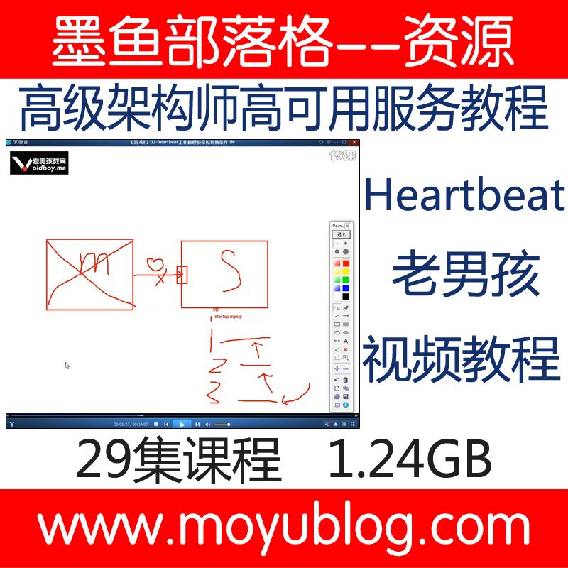 老男孩高级架构师-Heartbeat高可用服务视频教程