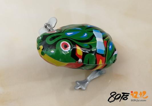80后记忆:发条青蛙 铁皮青蛙