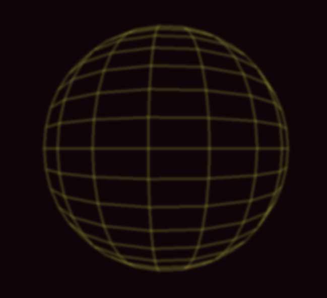 网状地球旋转动画特效