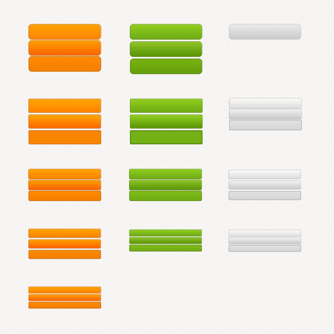 3种web2.0网站风格按钮_简约web2.0按钮_大气的web2.0按钮