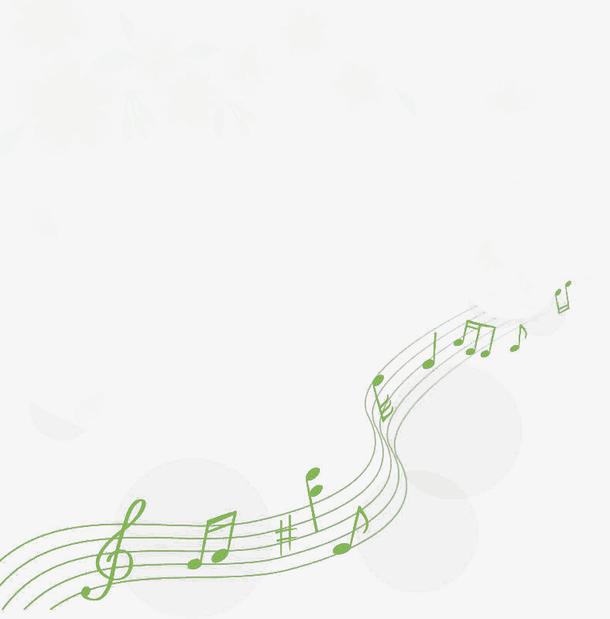 春天<a href=https://www.moyublog.com/tags/lvse/ target=_blank class=infotextkey>绿色</a>音符曲线