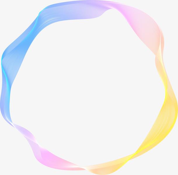 彩色渐变圆圈