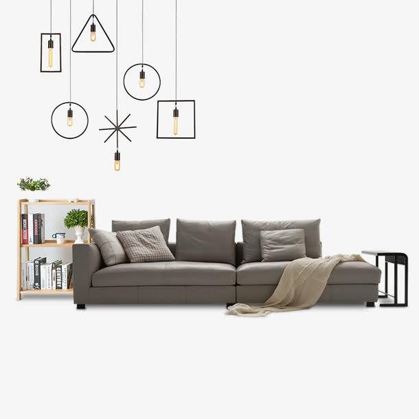 清新现代家居家装时尚沙发吊灯素