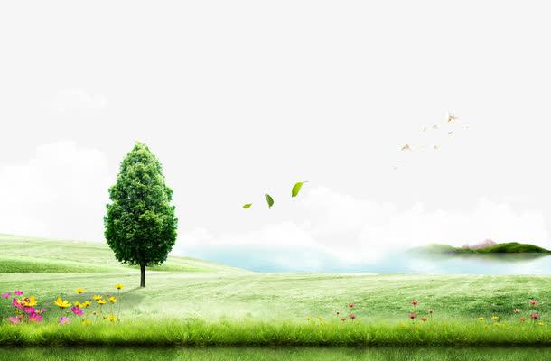绿色唯美风景