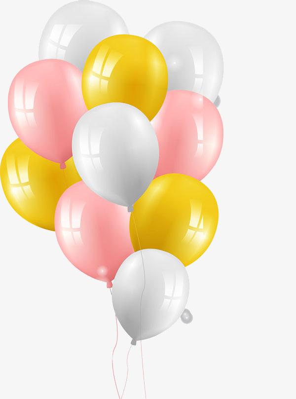 六一儿童节一串气球
