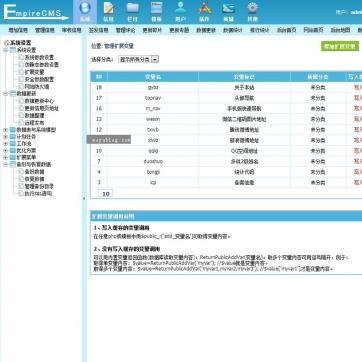 个人网站博客文章新闻资讯整站帝国CMS自适应HTML5响应式手机模板后台功能