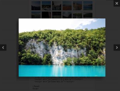 jQuery zoom图片弹出层插件简单的图片相册弹出层窗口展示代码