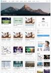 自适应手机HTML5帝国CMS模板新闻资讯个人博客工作室视频收费播放下载整站-ecms277
