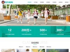 响应式中小学早教教育机构自适应手机HTML5帝国CMS整站网站模板-ecms242