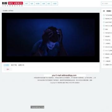 视频电影在线播放下载帝国CMS源码整站手机自适应响应式HTML5模板