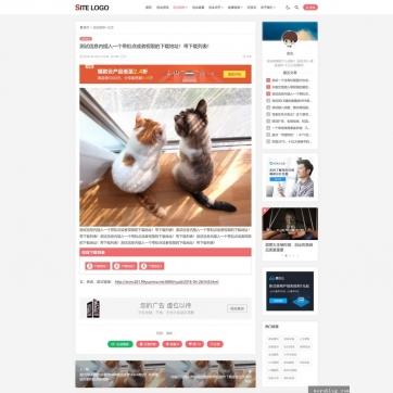 帝国CMS整站模板带会员中心多种栏目列表视频收费播放下载新闻资讯自适应手机HTML5-ecms261