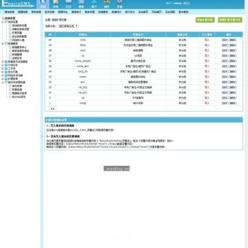 HTML5自适应响应式博客文章资讯新闻站群帝国CMS网站模板整站手机后台功能
