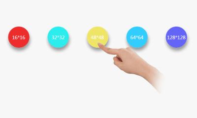 jQuery鼠标设置换成手势图标样式代码