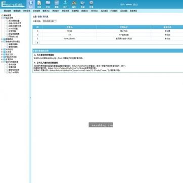 帝国CMS自适应HTML5响应式网站网址二维码导航源码支持手机平板后台功能