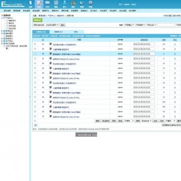 黑色版公司企业产品团队新闻图片展示HTML5响应式自适应网站模板帝国CMS-ecms248后台功能